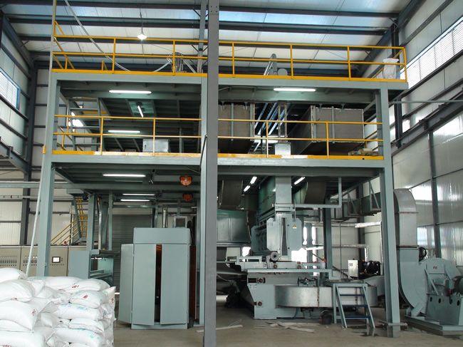 Линия по производству спанбонда из Китая